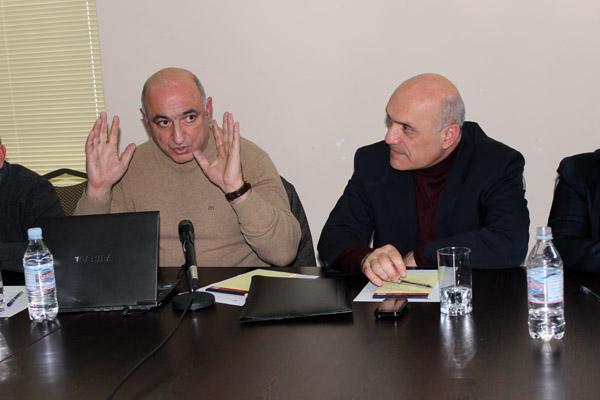 Բորիս Նավասարդյան, Աշոտ Մելիքյան